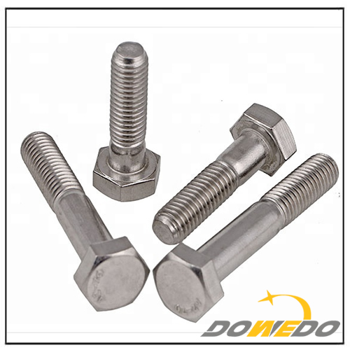 Din 931 Low Head Hex Bolt