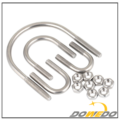Standard Sizes 304 Stainless Steel U Bolt